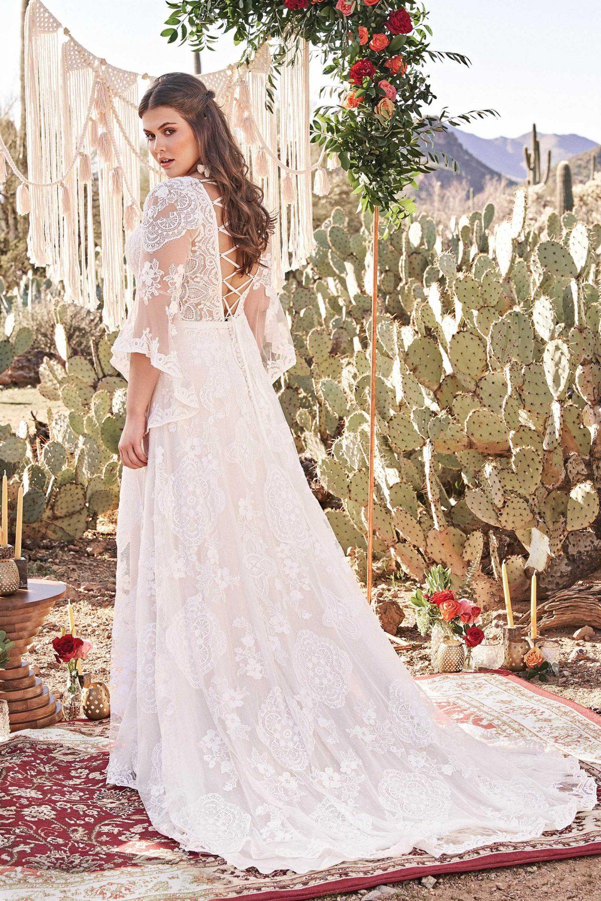leona 66064 lillian west plus size wedding dress at Emily Bridalwear Sheffield