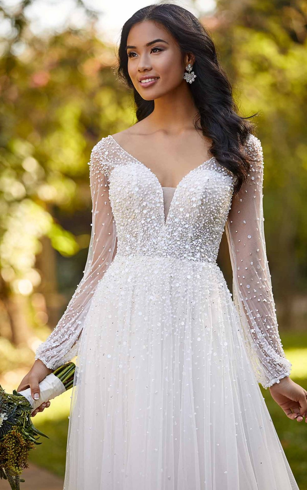 Ariel d3216 from Essense of Australia available at Emily Bridalwear