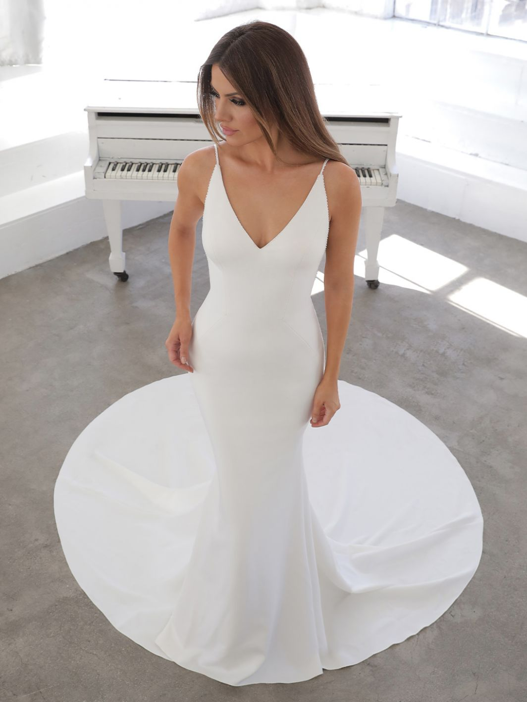 Nelia from Blue by Enzoani available at emily bridalwear in Sheffield