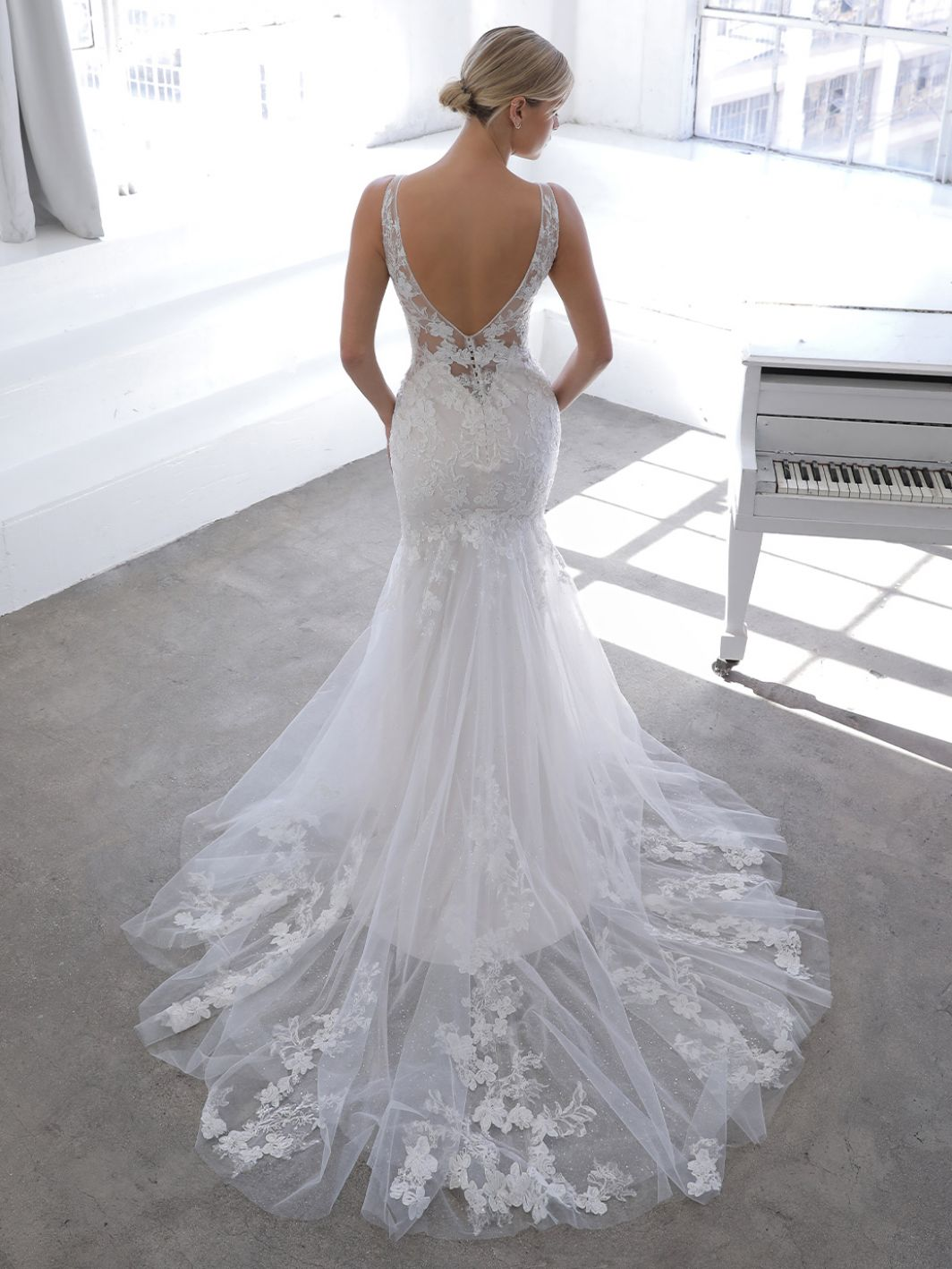 November from Blue by Enzoani available at Emily Bridalwear in Sheffield
