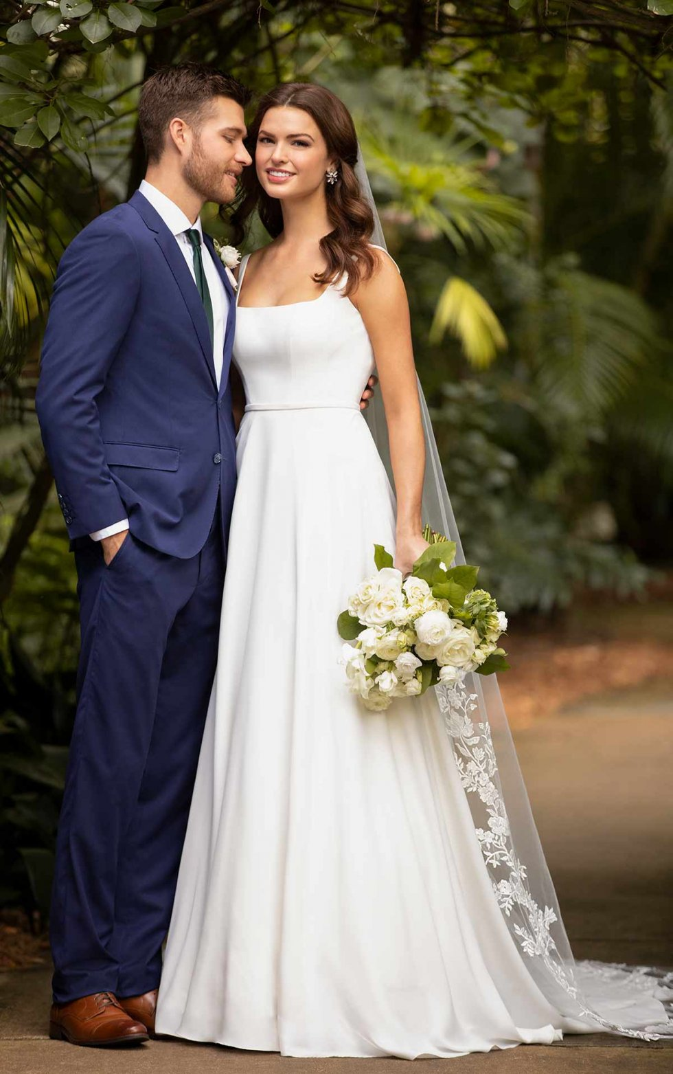 D3115 Claudia from Essense of Australia available at Emily Bridalwear in Sheffield