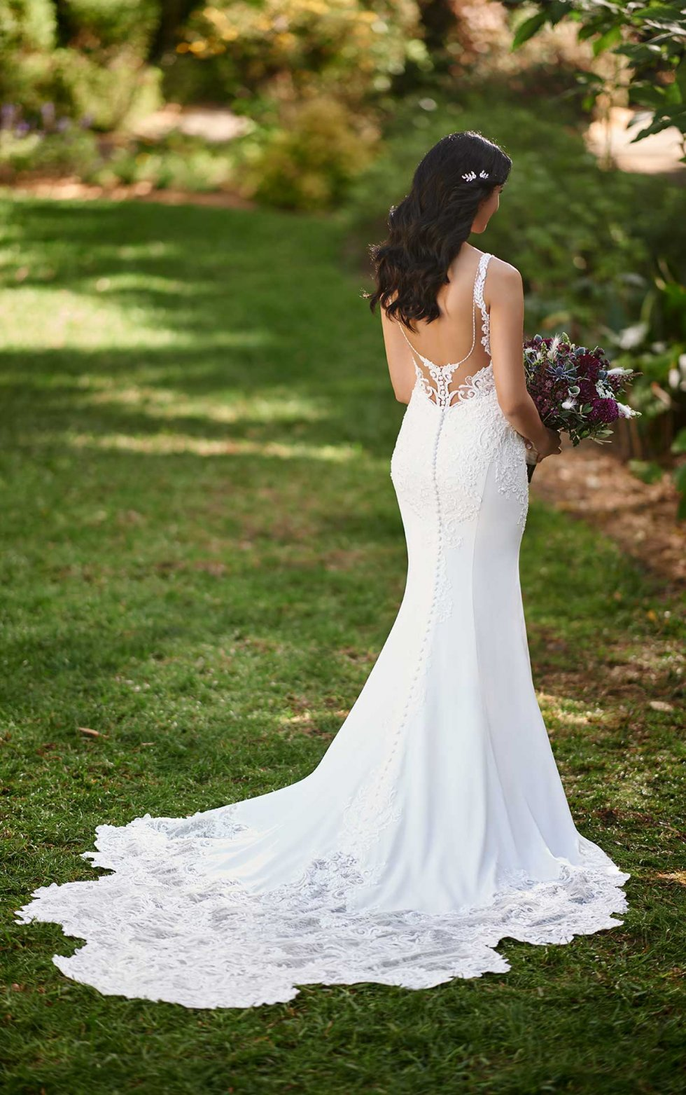 D3144 Sophia from Essense of Australia available at Emily Bridalwear in Sheffield