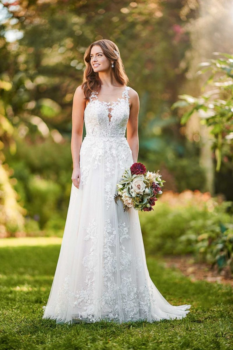 D3177 Errica from Essense of Australia available at Emily Bridalwear in Sheffield