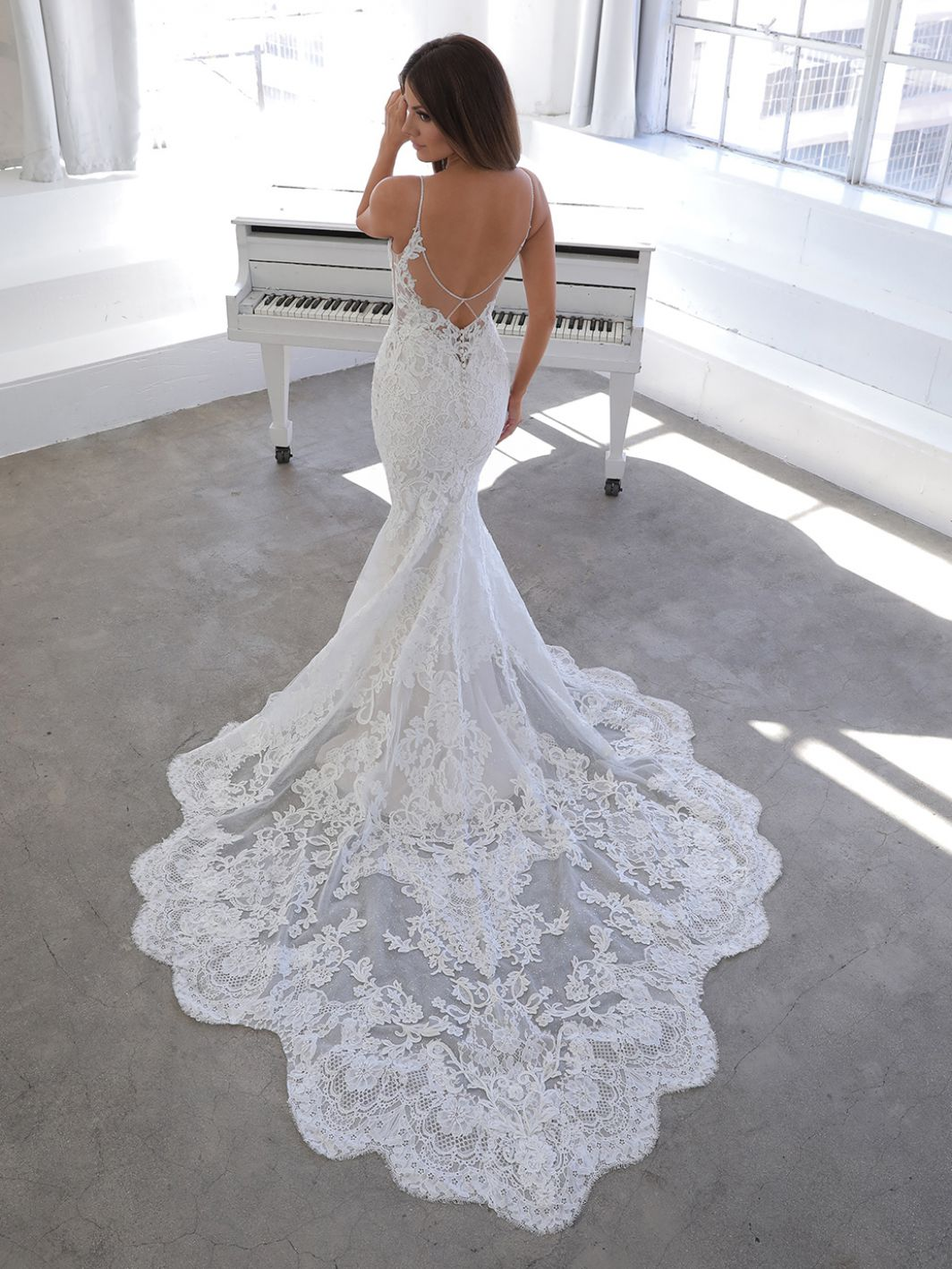 Nini from Blue by enzoani available at Emily Bridalwear in Sheffield