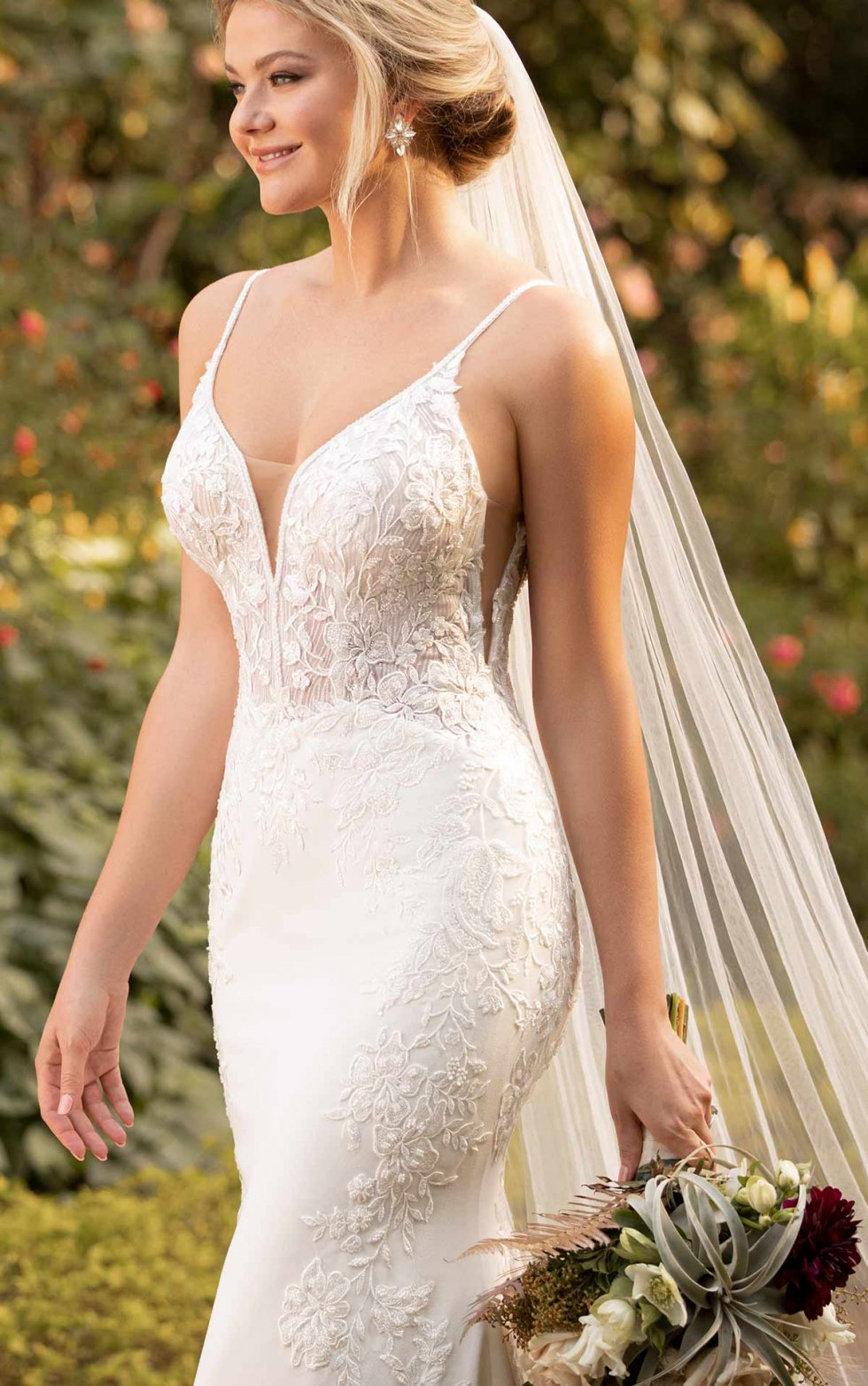 Everthine D3063 from Essense of Australia available at Emily bridalwear in Sheffield