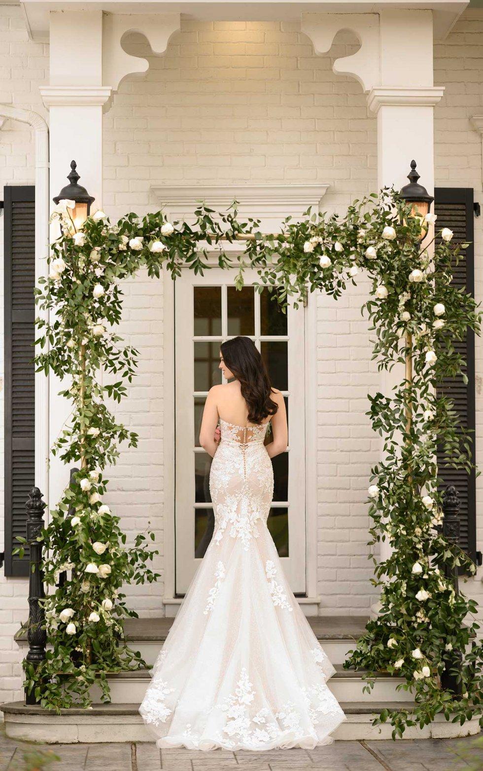 meryl 1283 from Martina Liana available at Emily bridalwear back image