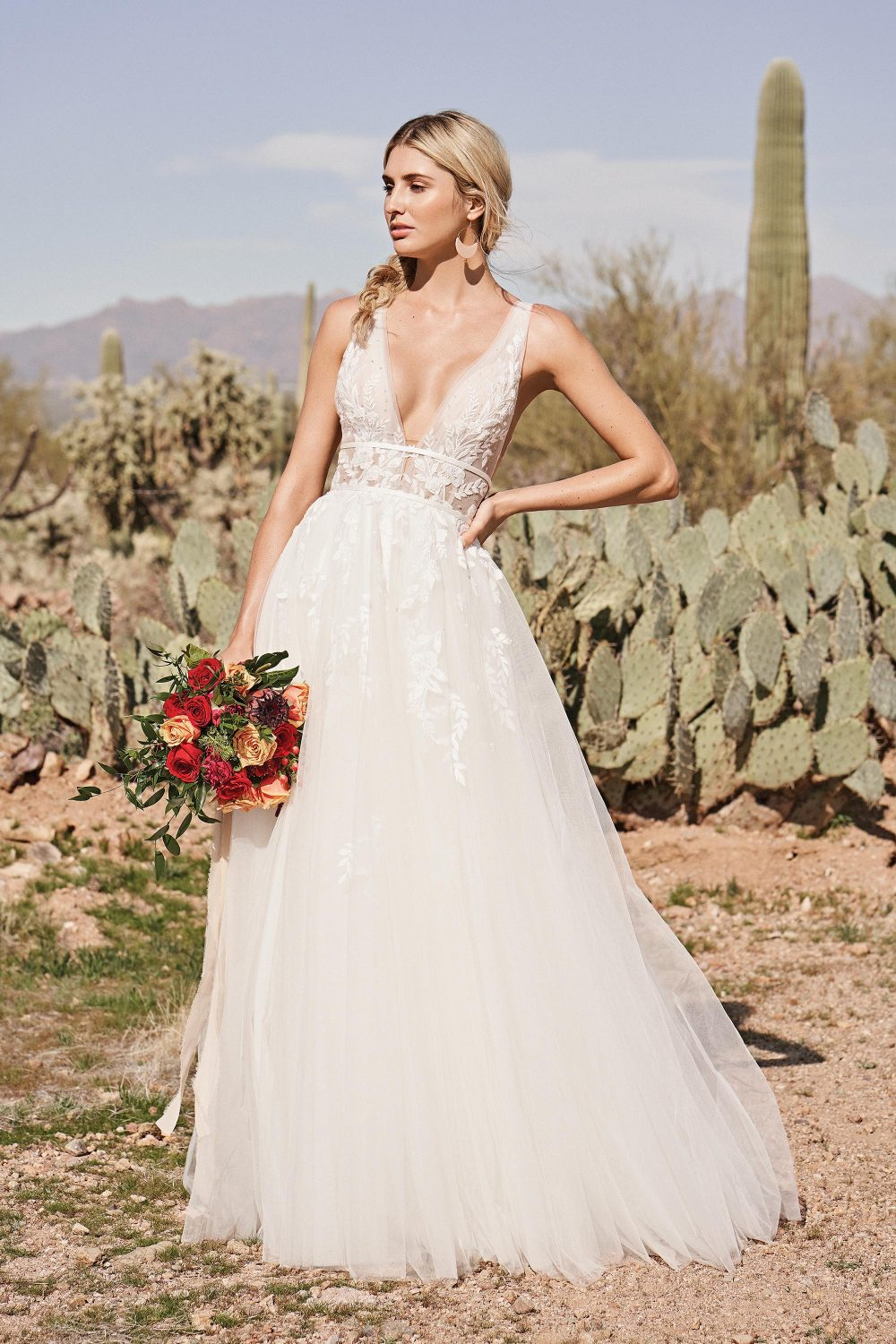 Lucille from Lillian West style 66155 available at Emily bridalwear in Sheffield
