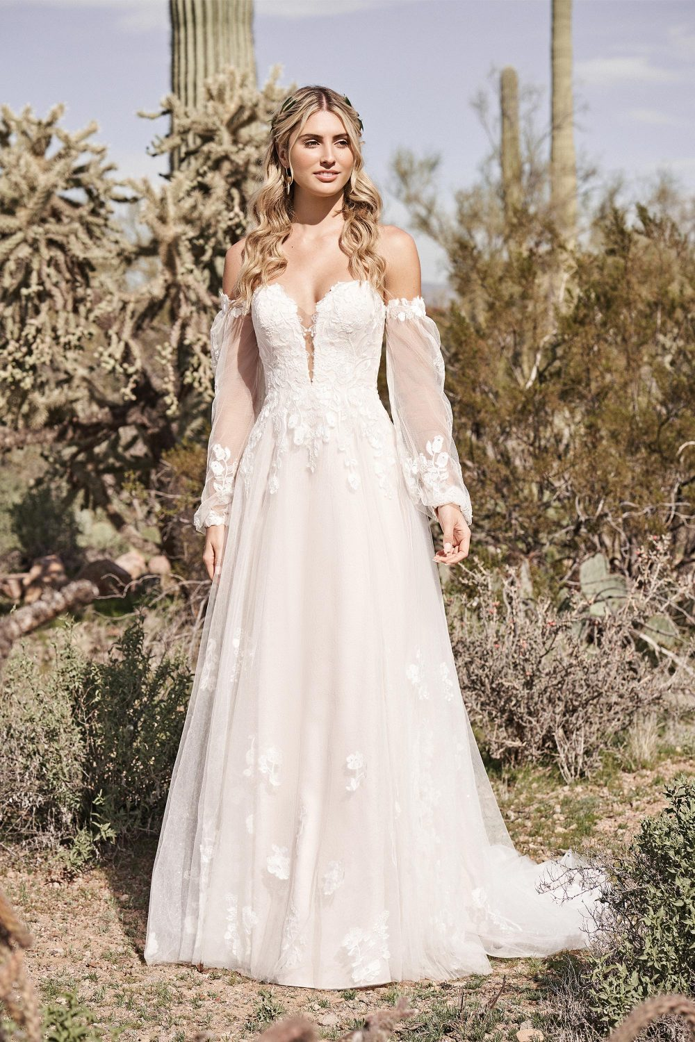 66175 Luciana from Lillian west available at Emily bridalwear in Shefield
