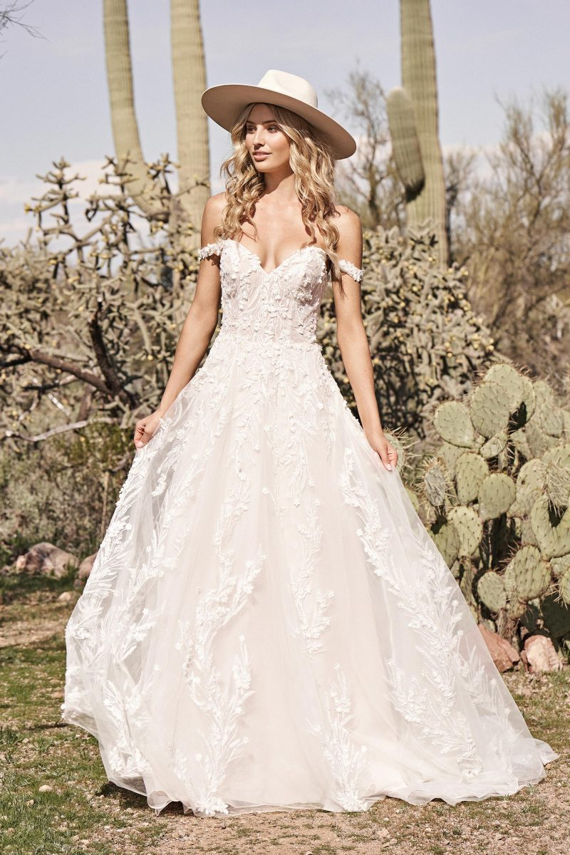Lara 66176 from Lillian west Available at Emily Bridalwear in Sheffield