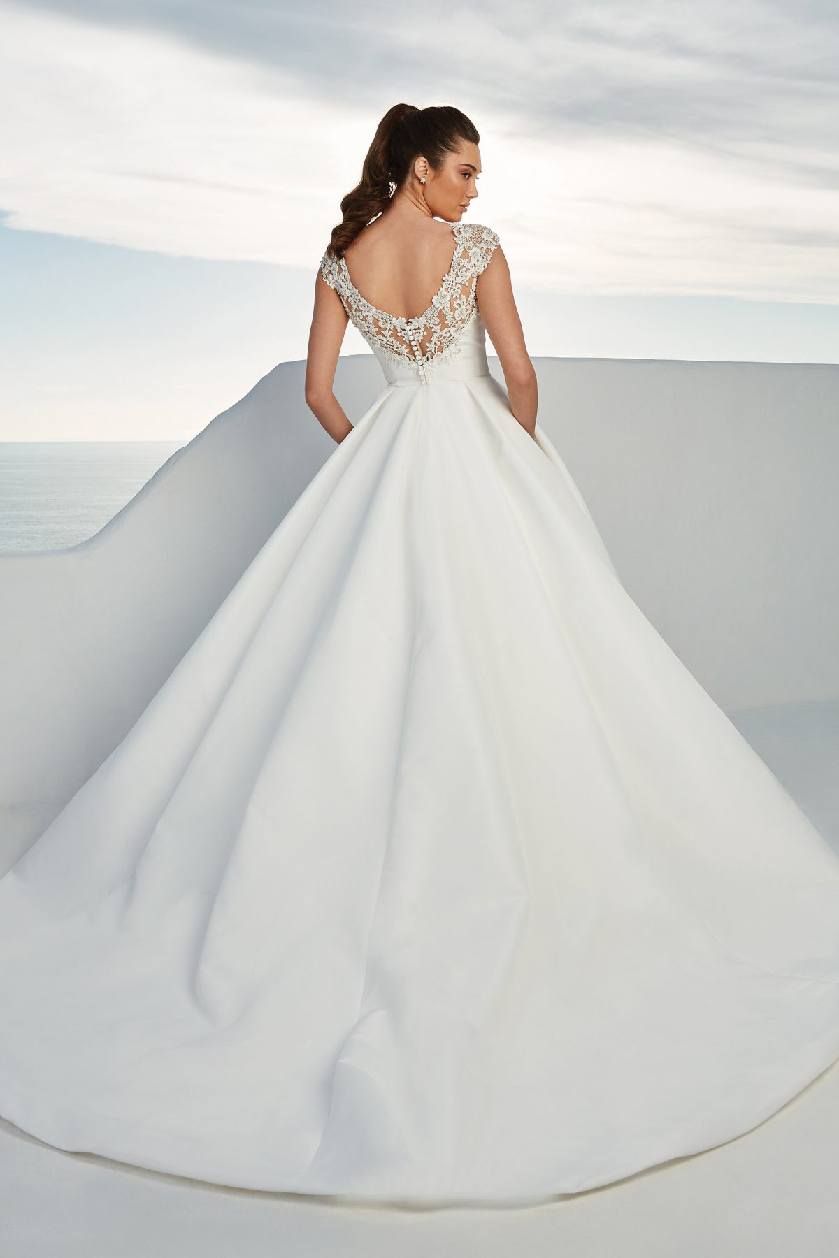 88177 Brighton from Justin Alexander available at Emily Bridalwear Sheffield