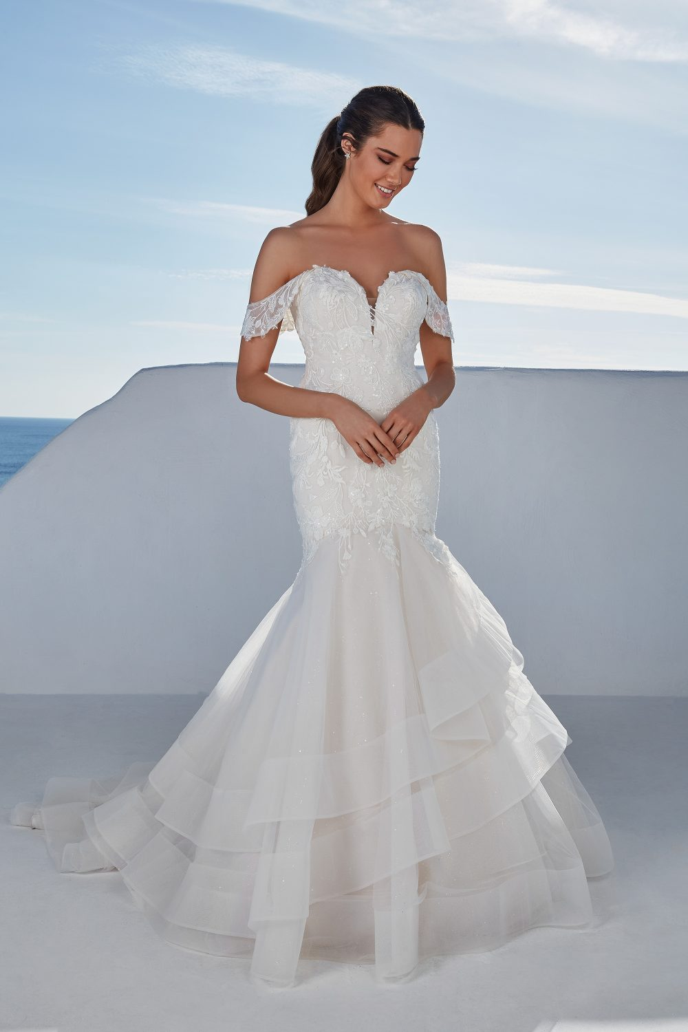 Breslin from Justin Alexander available at Emily Bridalwear in Sheffield