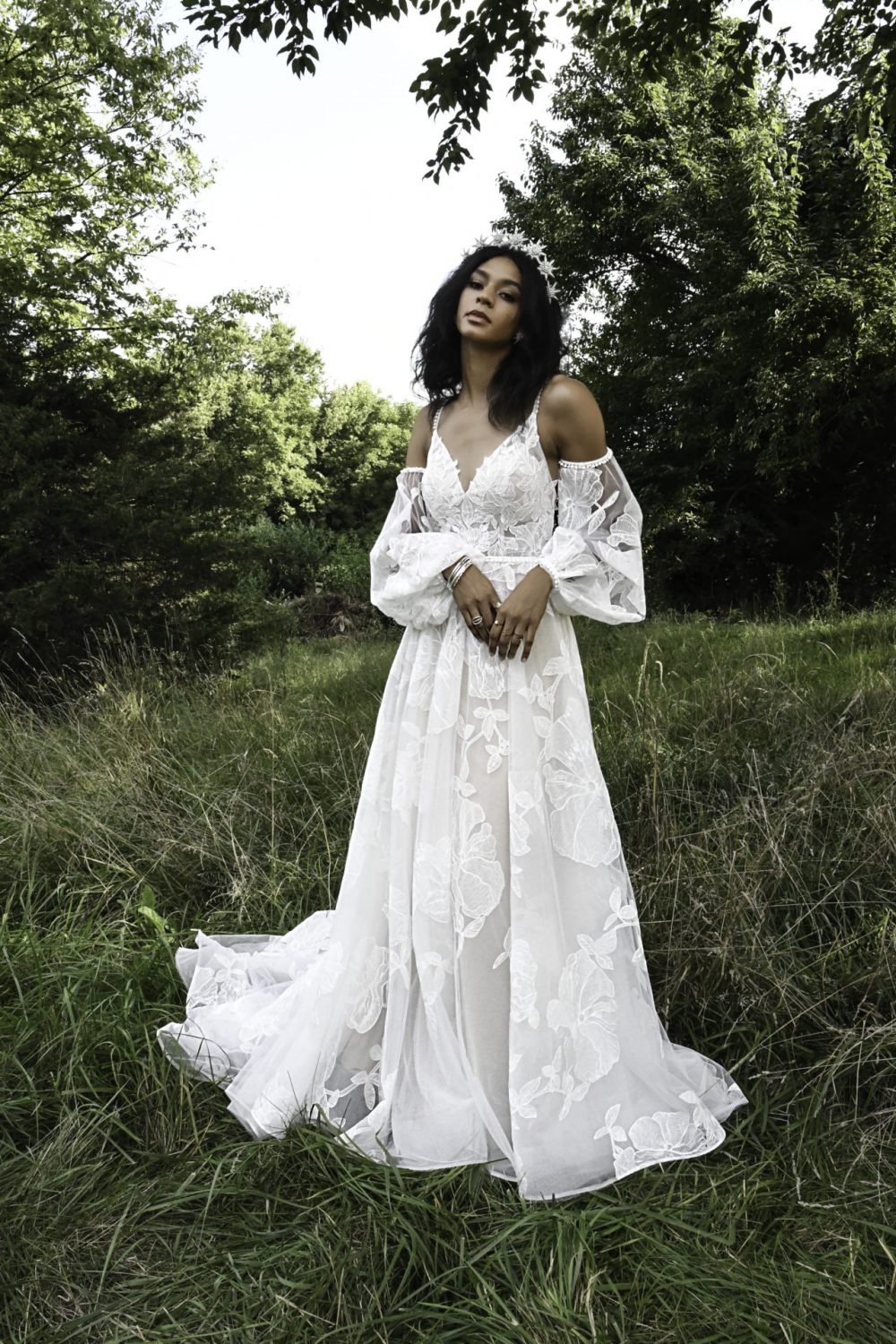 Aspen from all who wander available at emily Bridalwear in Sheffield