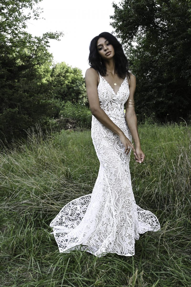 Bodhi from All who wander available at Emily Bridalwear in Sheffield