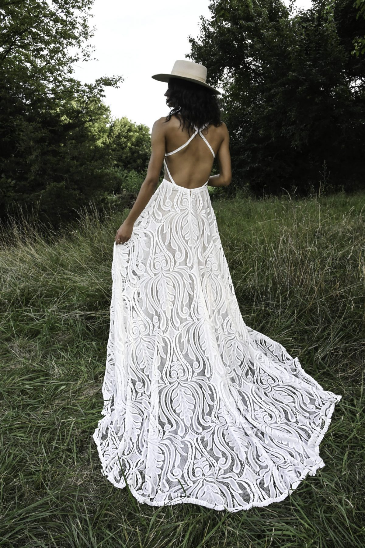 jaden from All Who wander available at Emily Bridalwear in Sheffield