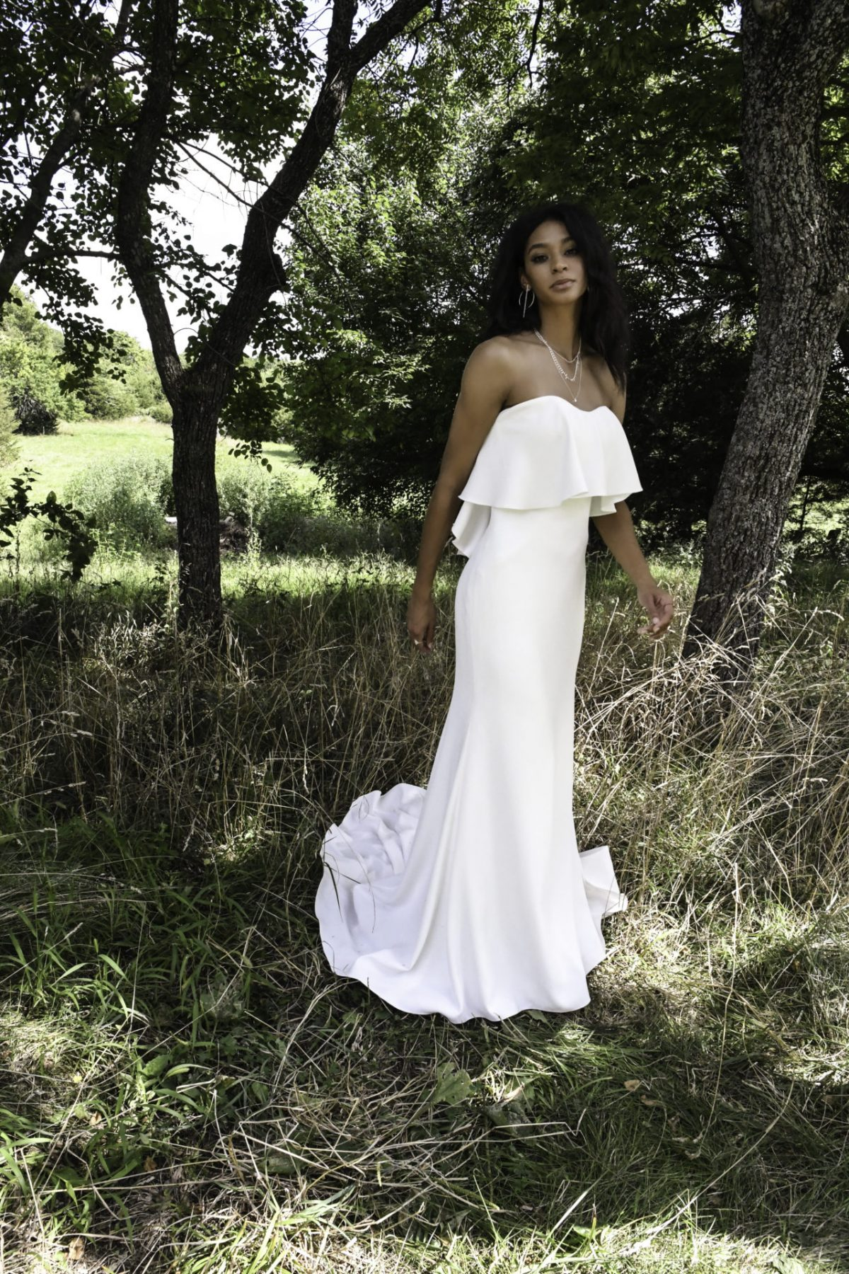 Tasma from All who wander available at Emily bridalwear in Sheffield