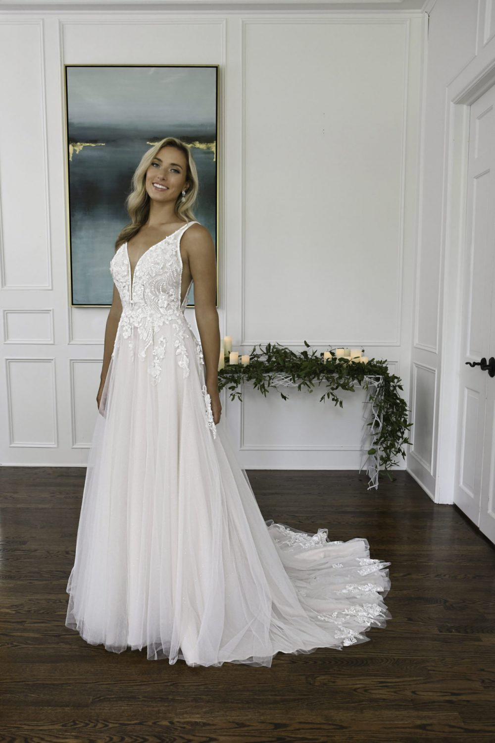 Chrissie D3151 Essense of Australia available from Emily Bridalwear in Sheffield