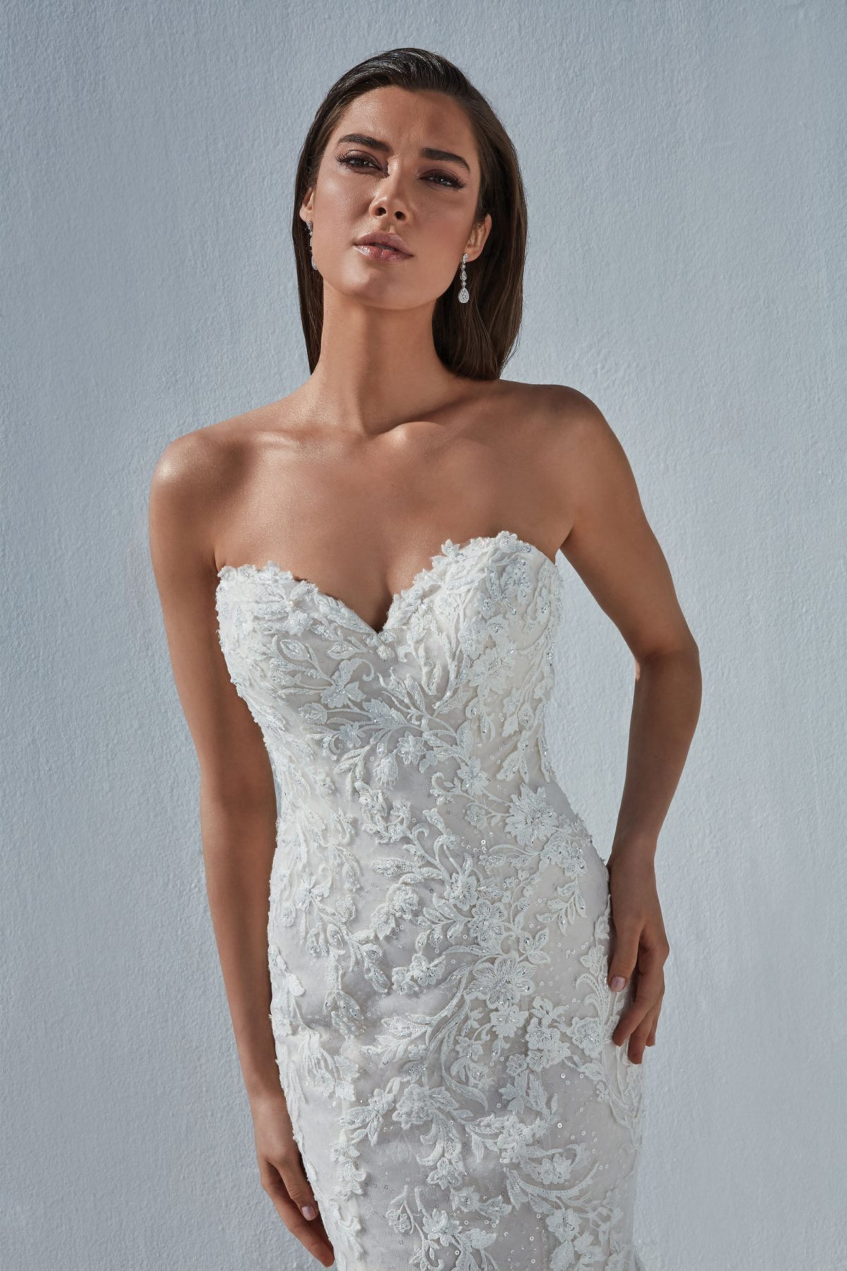 Justin Alexander wedding dress Brit 88192 Available at Emily Bridalwear