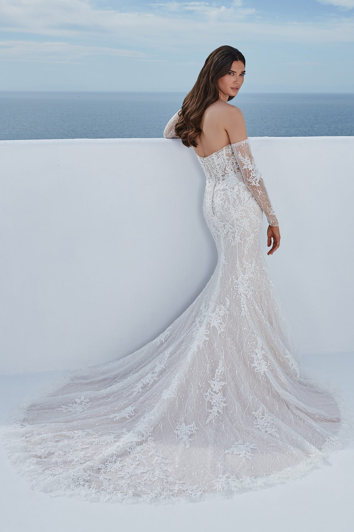 Justin Alexander wedding dress Berta 88197 Available at Emily Bridalwear