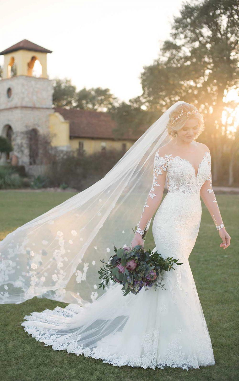 Essie 2602 Essense of Australia   Wedding Dresses   Emily Bridalwear