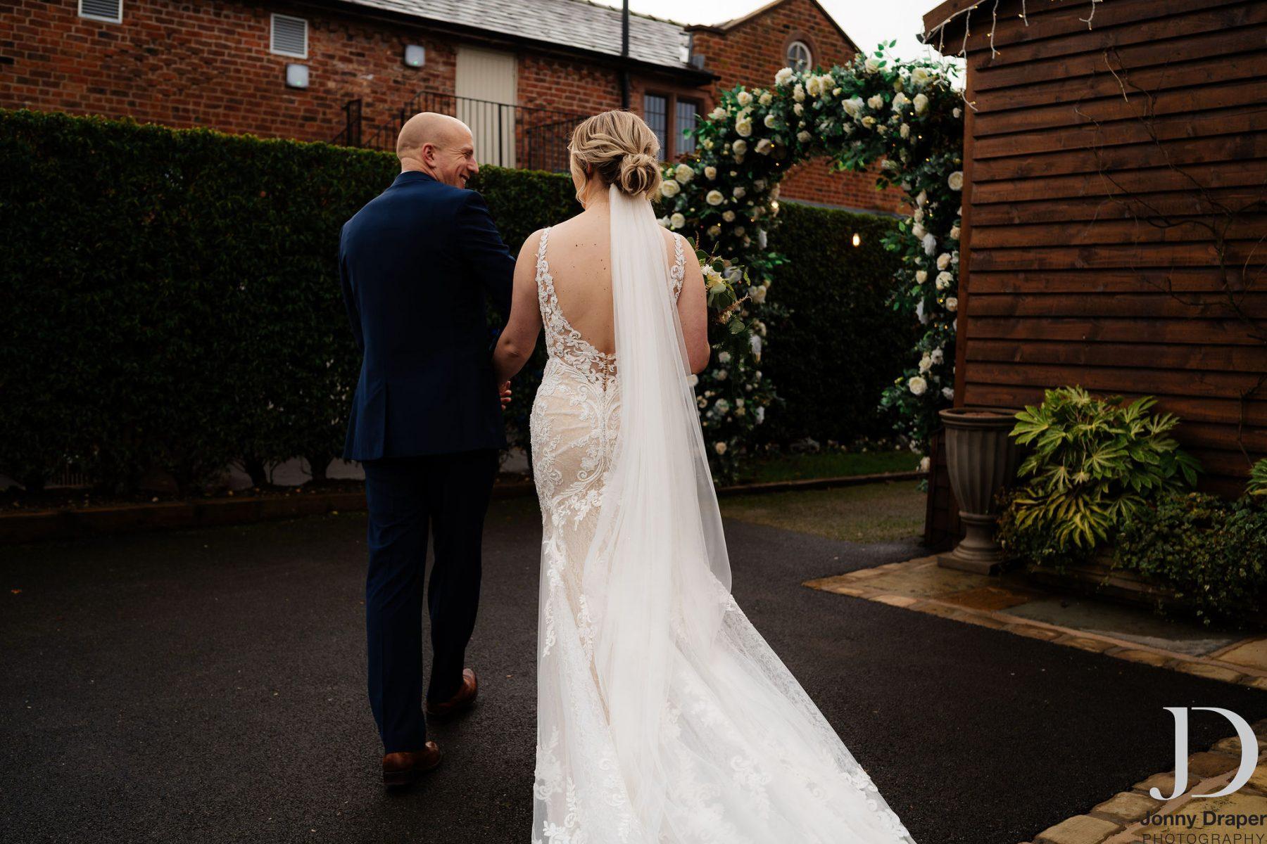 Real bride Bex Emily Bridalwear