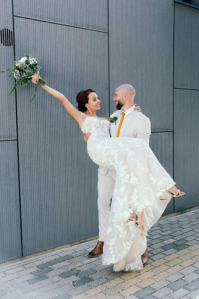 Real Bride emily bridalwear