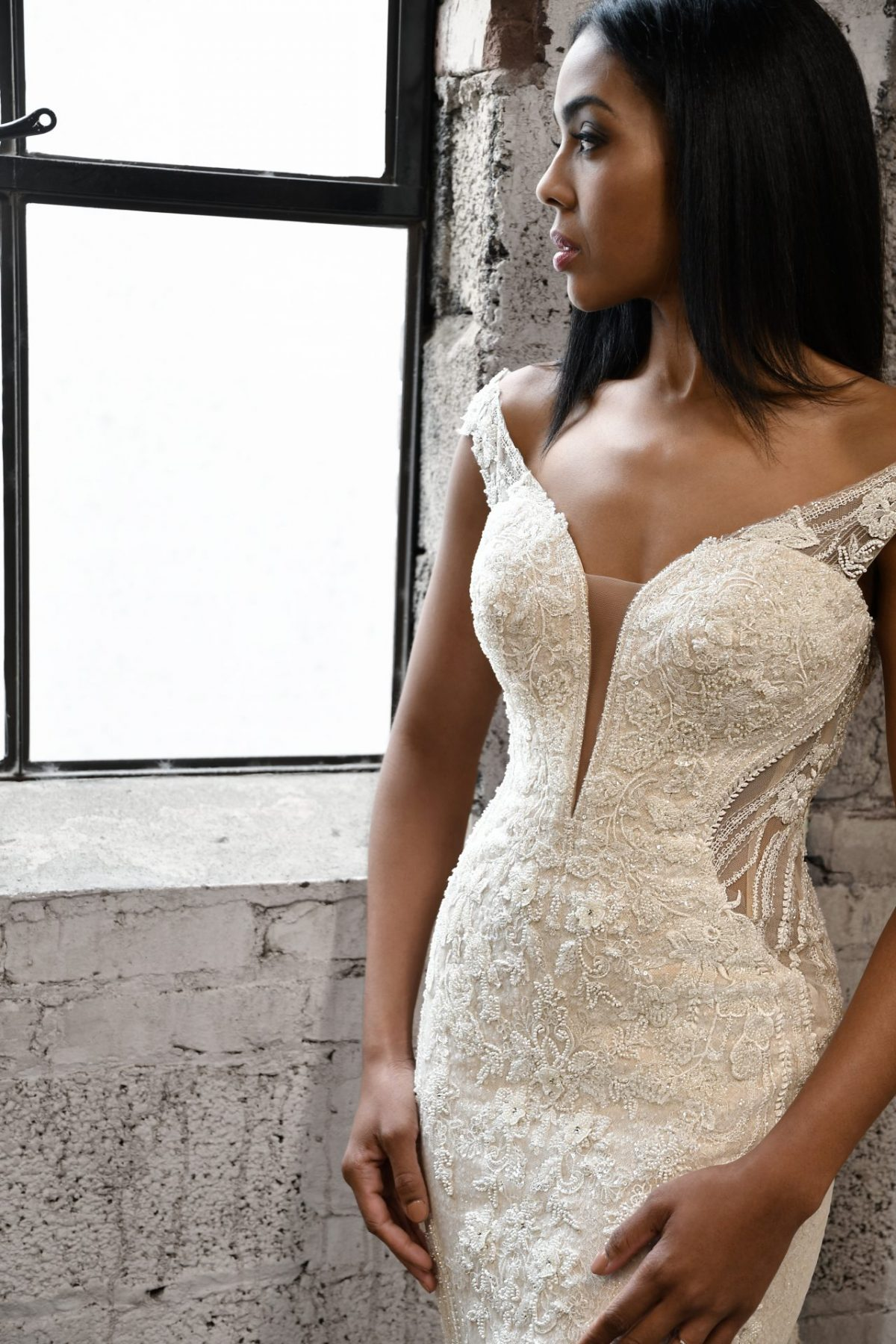 The stunning Martina Liana style 1338 Milena wedding dress is available from Emily Bridalwear in Sheffield, South Yorkshire.