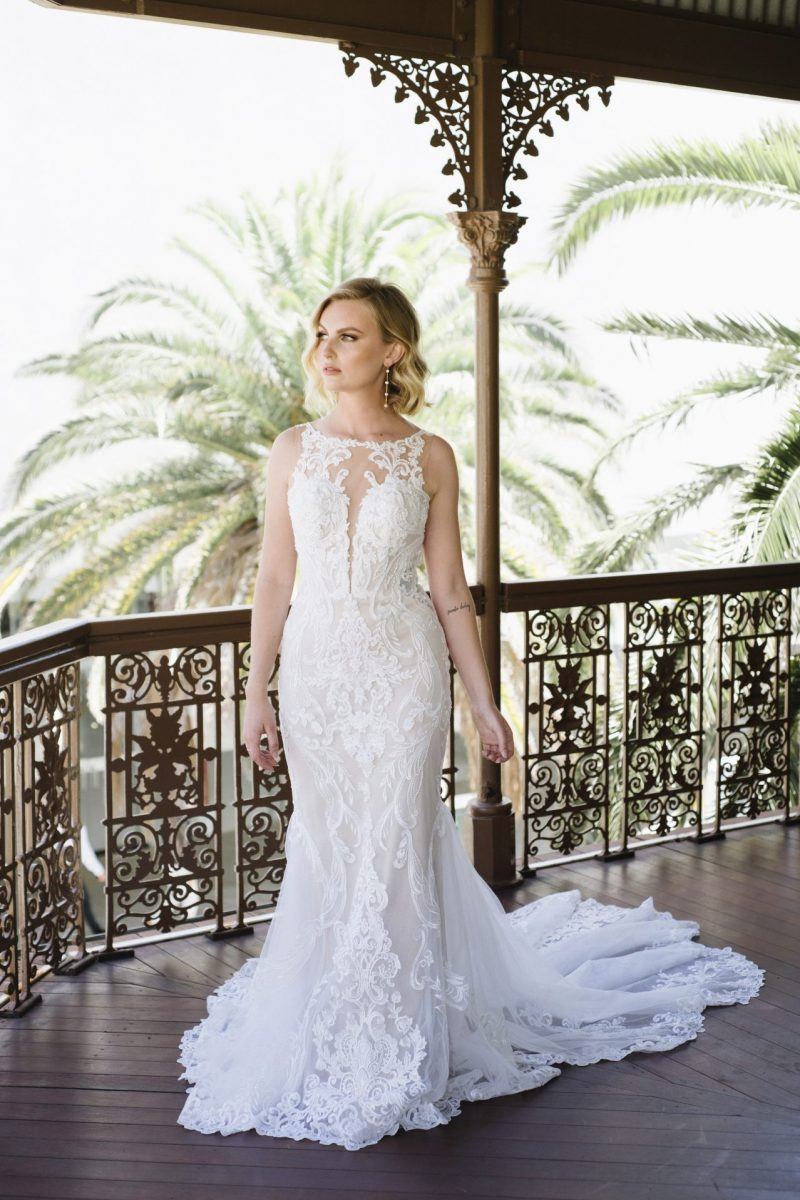 D3153 fifi from Essense of Australia available at Emily Bridalwear in Sheffield
