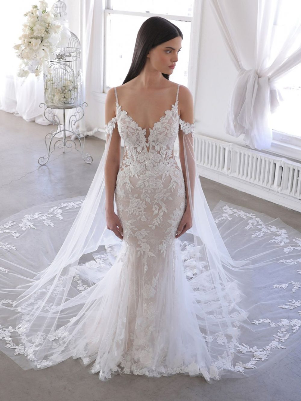 Wedding dress Olana from Blue by Enzoani available at Emily Bridalwear in Sheffield, Yorkshire