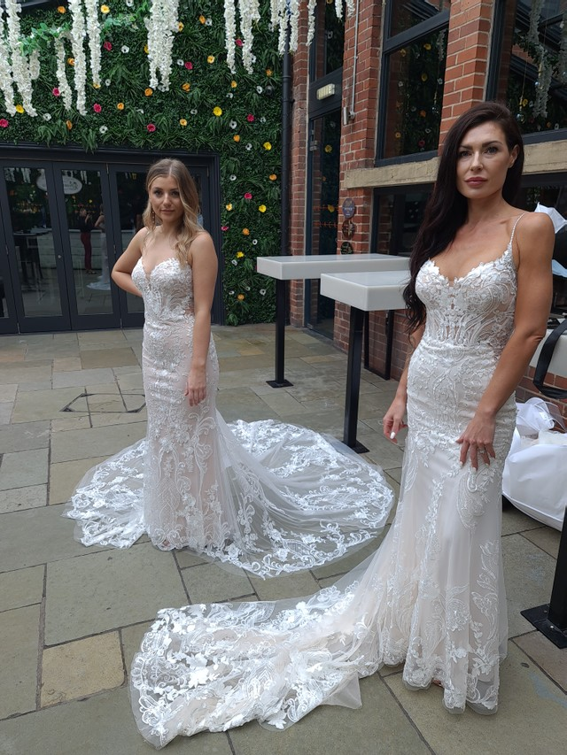 Blue by enzoani wedding dress at Emily Bridalwear Sheffield