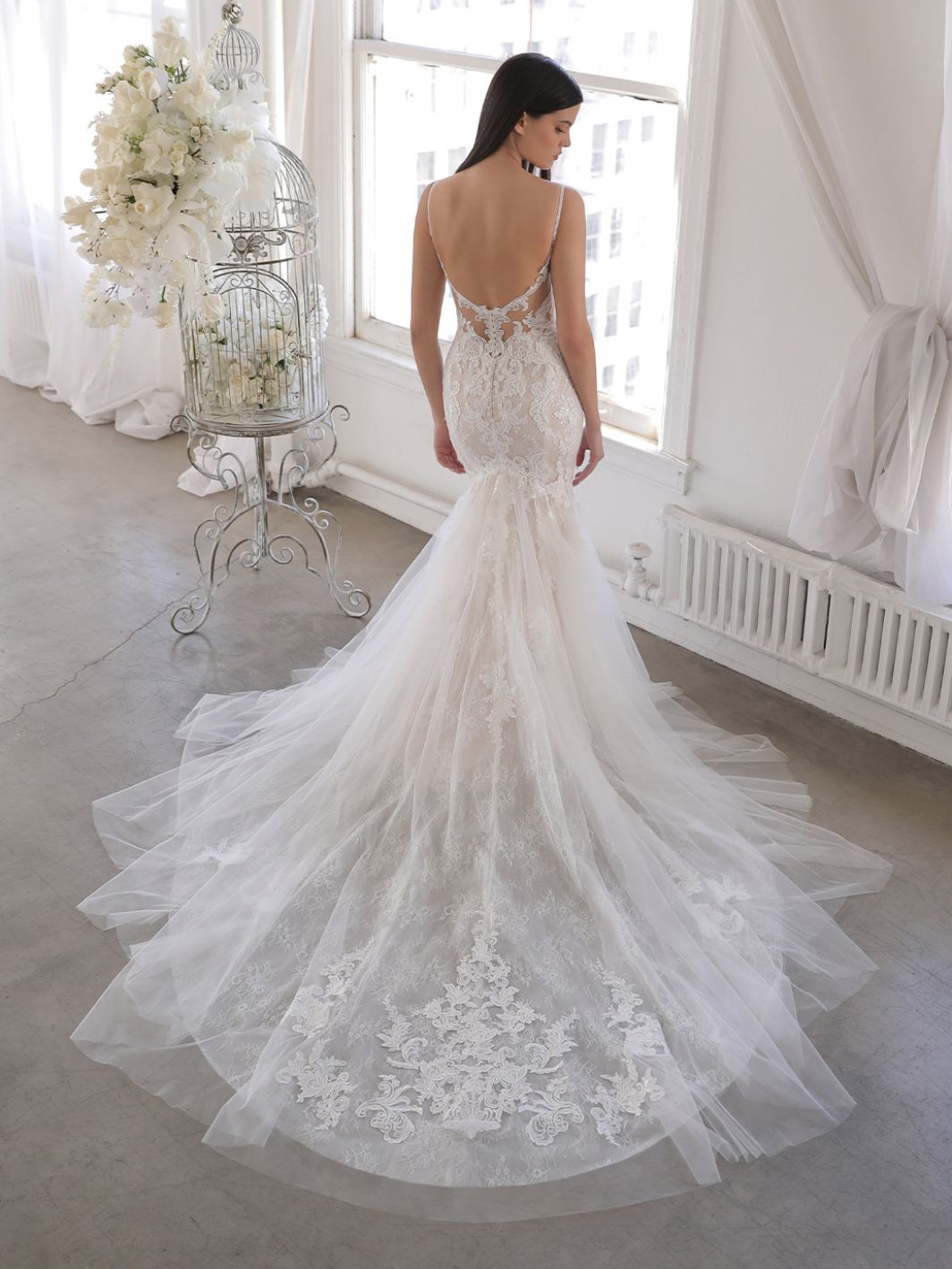 oaklyn wedding dress from Blue by Enzoani available at Emily Bridalwear Sheffield Yorkshire